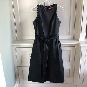 Never worn Isaac Mizrahi black polyester dress